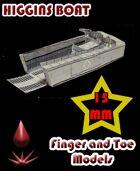 Higgins Boat 15mm
