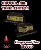 Lincoln, NM, Train Station