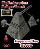 Big Fortress Gun: Rail Gun Turret