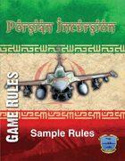 Persian Incursion Sample Rules