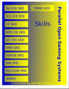 Parallel Open Gaming Systems Skills