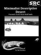 Minimalist Descriptive Desert