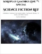 SoRoPlay GamTools Zine: Science Fiction Ref