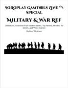 SoRoPlay GamTools Zine: Military & War Ref