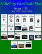 SoRoPlay GamTools Zine - Issues 1 to 21 [BUNDLE]