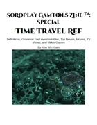 SoRoPlay GamTools Zine: Time Travel Ref