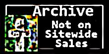 No Longer in Sitewide Sales