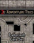 2e Adventure Tiles: Labyrinth Core Set