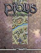 Ptolus Deluxe City Map