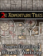 2e Adventure Tiles: Dungeon Expansion 03 - Wizard's Workshop