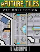 eFuture Tiles VTT Collection: Starships I