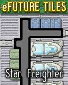 e-Future Tiles: Star Freighter
