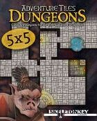 Adventure Tiles: 5x5 Dungeons