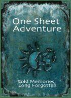 Winter Eternal: Cold Memories, Long Forgotten