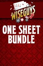 Wiseguys One sheet bundle [BUNDLE]