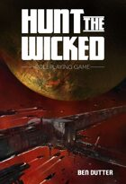Hunt the Wicked RPG - Quick Start