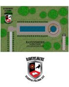 Ravensmere Academy - Water Tower and Reflecting Pool - No Overlay