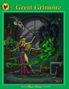 The Great Grimoire: Book of RPG Spells