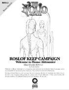 The Folio #1.5 Welcome to House Aldenmier [Mini-Adventure]