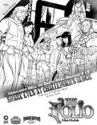 The Folio #7.5 Snake Eyes at Challenger's Block [Mini-Adventure F1.5]