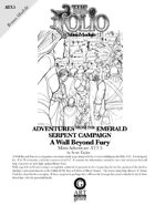 The Folio #13.5 A Wall Beyond Fury [Mini-Adventure AT3.5]