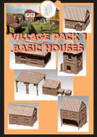 3D scenery - Basic Houses