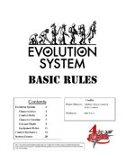 Evolution System: Basic Rules