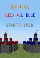 Ashlar Starter Deck: Red VS Blue