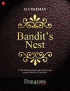 Bandit's Nest (Level 1 PCs)