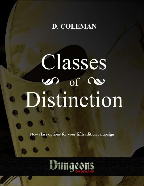 Classes of Distinction