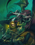 Cover full page - Cthulhu - RPG Stock Art