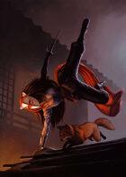 Cover full page - Kitsune - RPG Stock Art