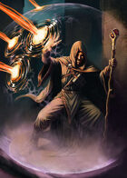 Cover full page - Mage - RPG Stock Art