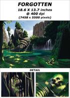 Cover full page - Forgotten - RPG Stock Art