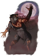 Character - Werewolf - RPG Stock Art