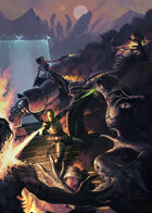 Cover full page - Last Stand - RPG Stock Art