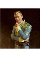 Colour card art - character: gentleman rogue - RPG Stock Art