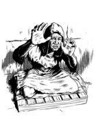 Filler spot - character: beggar - RPG Stock Art