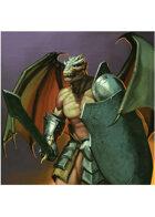 Colour card art - character: mawgrim - RPG Stock Art