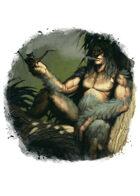 Filler spot colour - character: kapre - RPG Stock Art