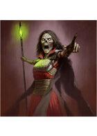 Colour card art - character: lich - RPG Stock Art