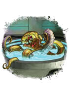 Filler spot colour - creature: mind hacker - RPG Stock Art