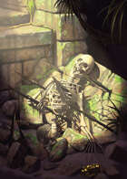 Cover full page - Indiana Bones - RPG Stock Art