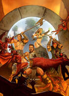 Cover full page - Sword & Sorcery - RPG Stock Art