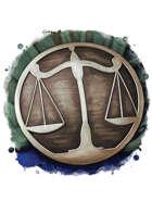 Filler spot colour - items: merchant emblem - RPG Stock Art