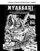 Myassari, Patron of Birth and Decay (DCC RPG)