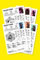 Black Code - Pregenerated Character Pack