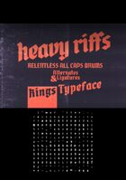 kings font