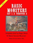 PM2 Basic Monsters Set 1