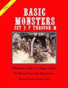 PM3 Basic Monsters Set 2